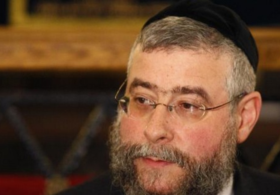 Pinchas Goldschmidt, president of the Conference of European Rabbis.