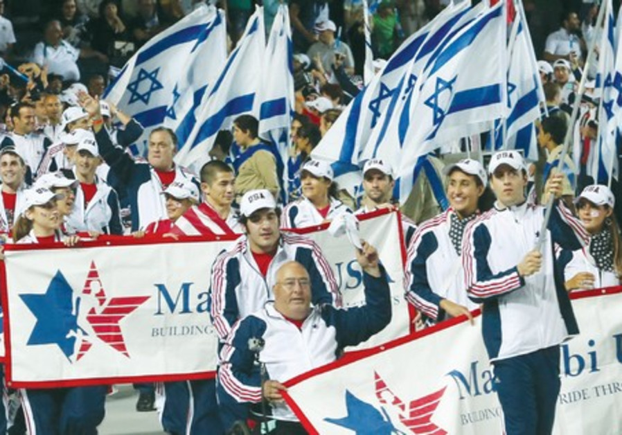 TEAM USA at the 19th Maccabiah Games in Jerusalem.