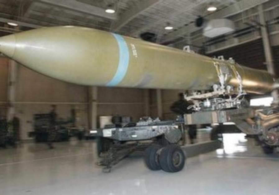 "5000-pound class bomb ""Bunker Buster"" GBU-37"