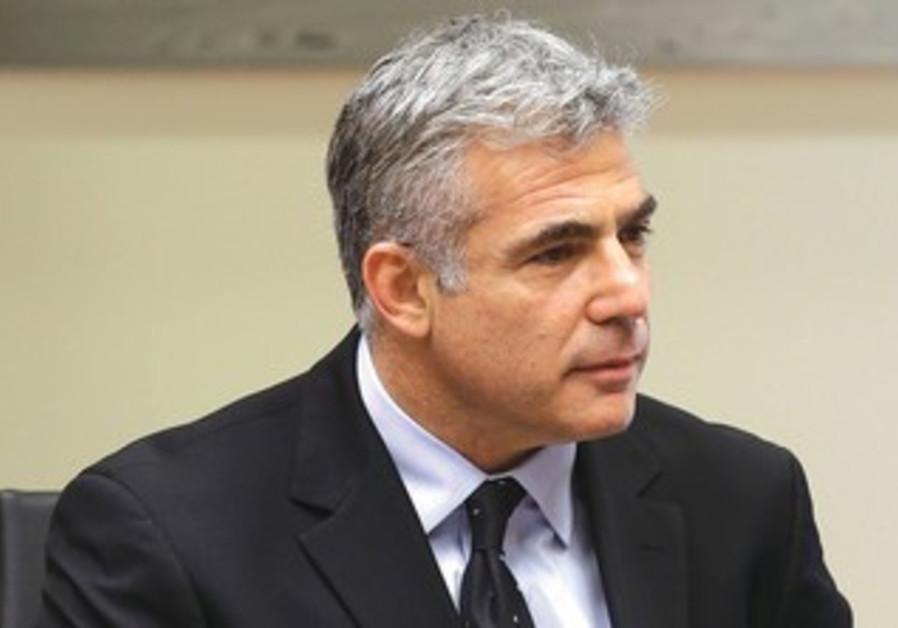 Finance Minister Yair Lapid.