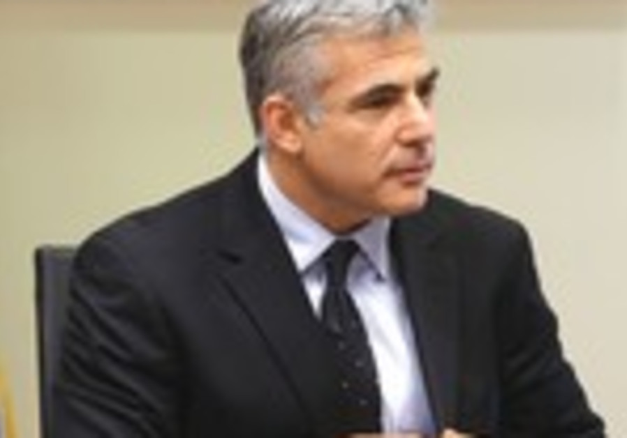Finance Minister Yair Lapid.