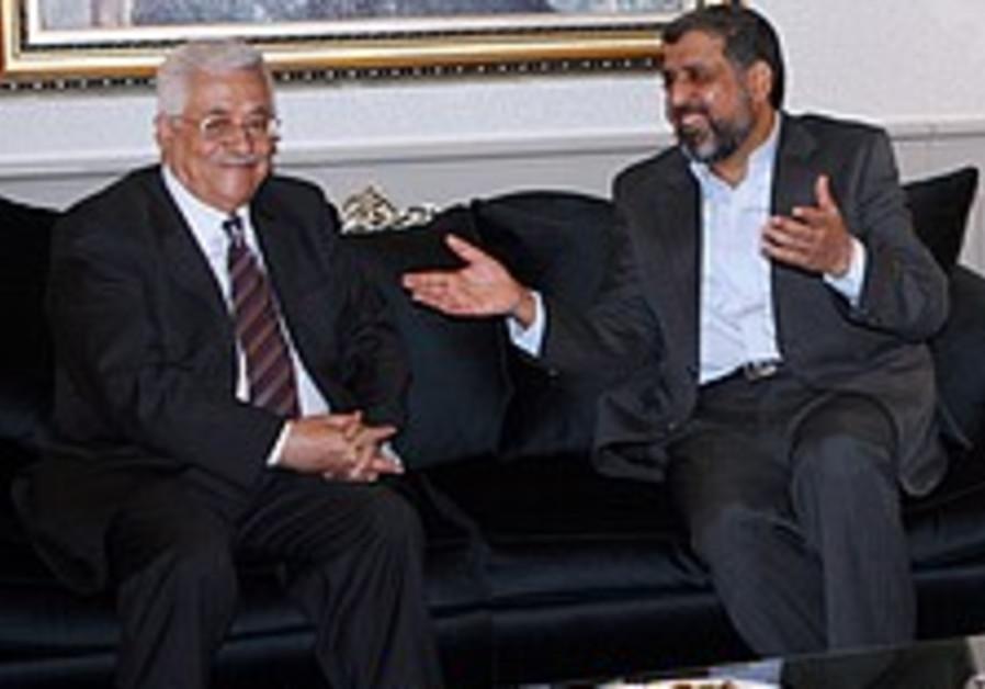 Abbas meets Islamic Jihad head in Syria