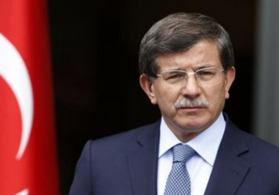 Turkey's Foreign Minister Ahmet Davutoglu.
