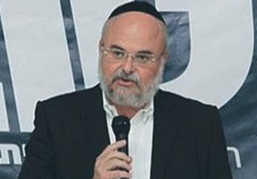 Tov Party chairman Hanoch Verdinger