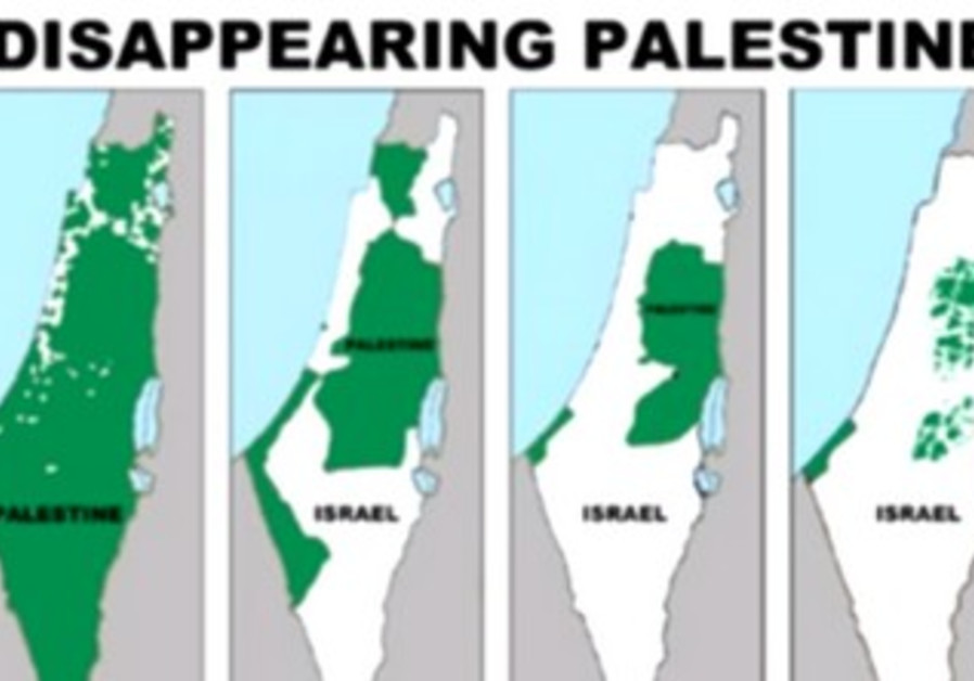"""Disappearing Palestine"" bus ads"