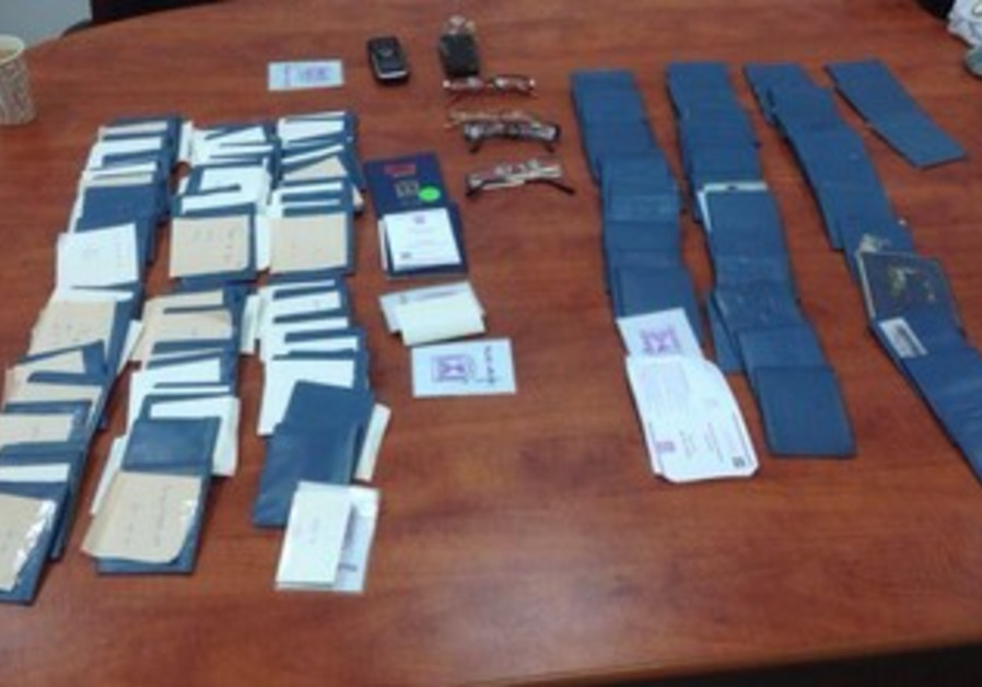 200 fake IDs seized in Beit Shemesh to use in voter fraud.