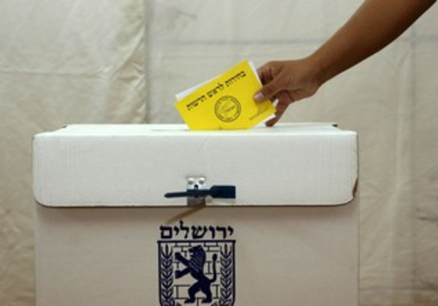 Jerusalem municipal election.