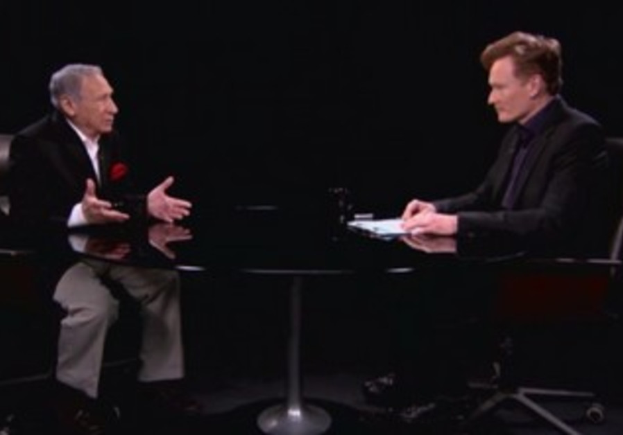 Mel Brooks talks to Conan O'Brien