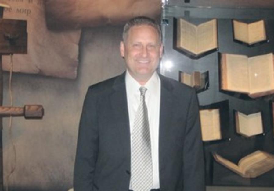 STEVE GREEN, president of Hobby Lobby Stores in Jerusalem.