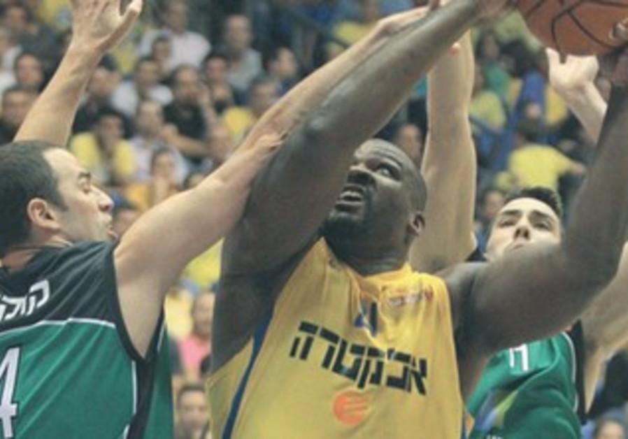 Sofoklis Schortsanitis, Maccabi Tel Aviv