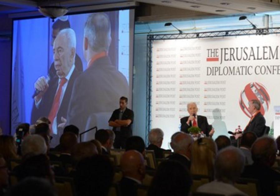Jerusalem Post Diplomatic Conference on October 24, 2013.