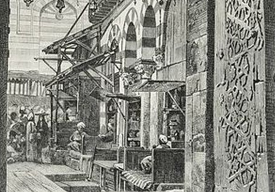 Alley of a Medival Egyptian market.