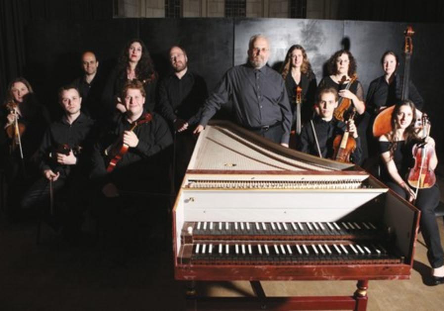 The Baroque Orchestra.