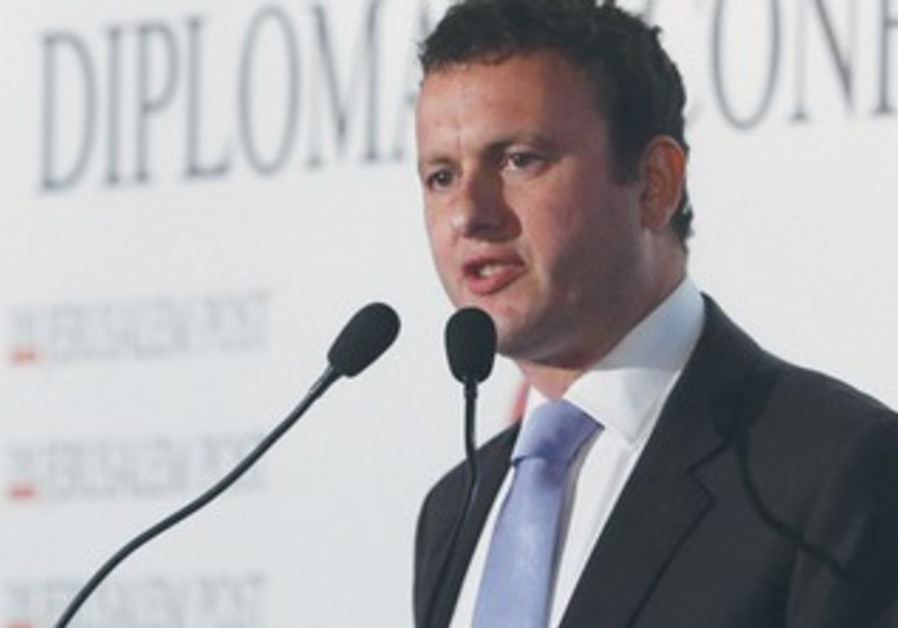 Britain's Ambassador to Israel Matthew Gould