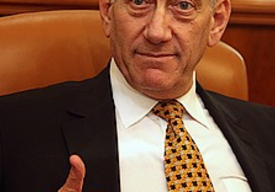 Olmert: Conversion is a national priority