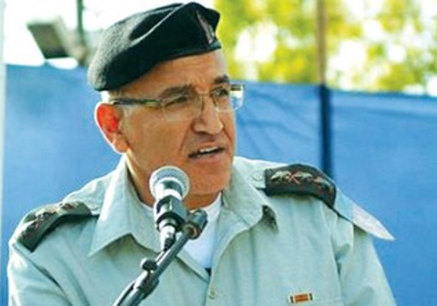 COL. SALMAN ZARKA, commander of the IDF's Center for Medical Services