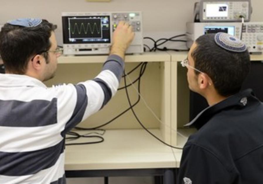 Jerusalem College of Technology students.