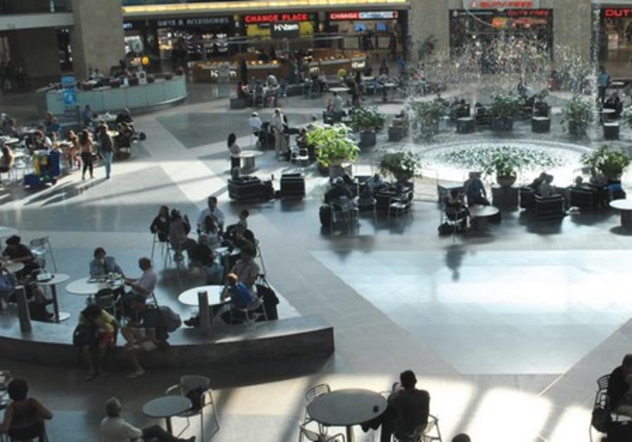 Ben Gurion Airport Departures Lounge