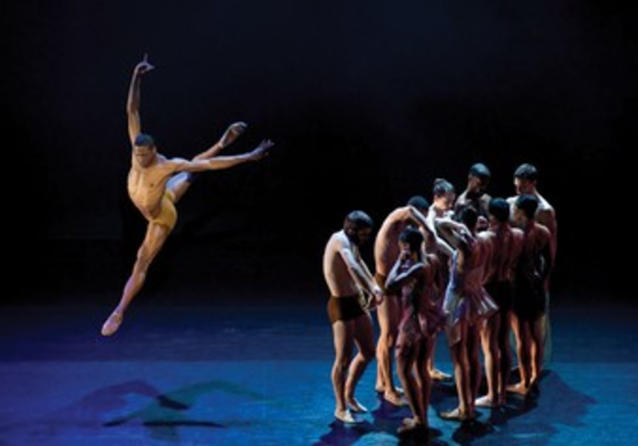 Alonzo King's ballet troupe LINES