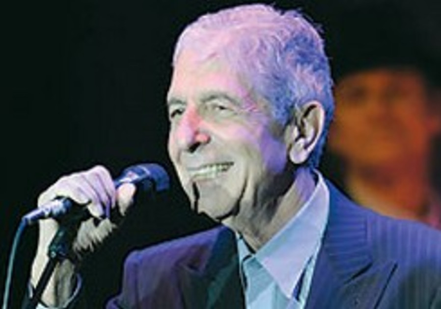 Leonard Cohen concert proceeds to benefit reconciliation work