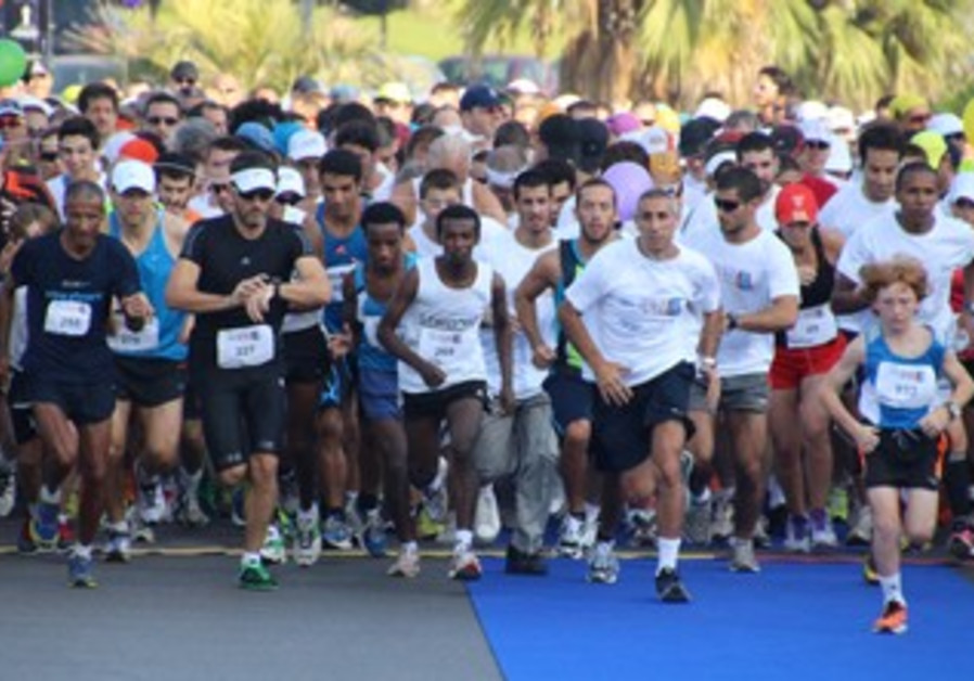 Picture of last year's ELEM run in Bat Yam.