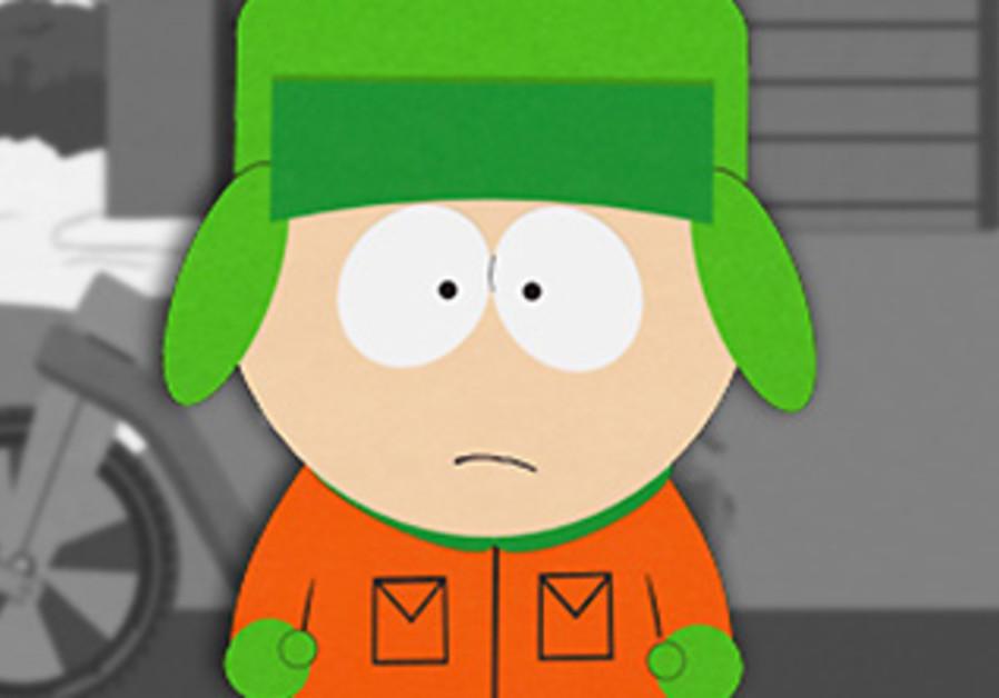 South Park's Jewish character, Kyle Broflovski