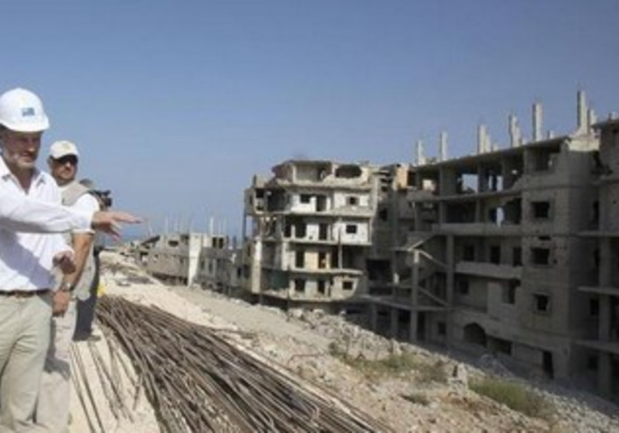 A UNRWA project manager in Gaza (file)