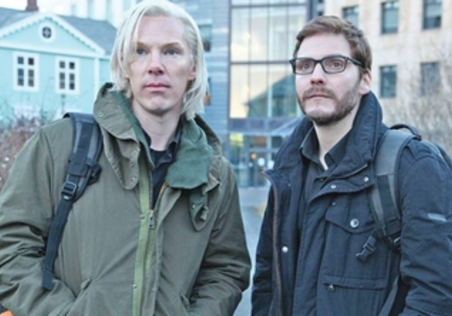 The Fifth Estate, starring Benedict Cumberbatch and Daniel Brühl
