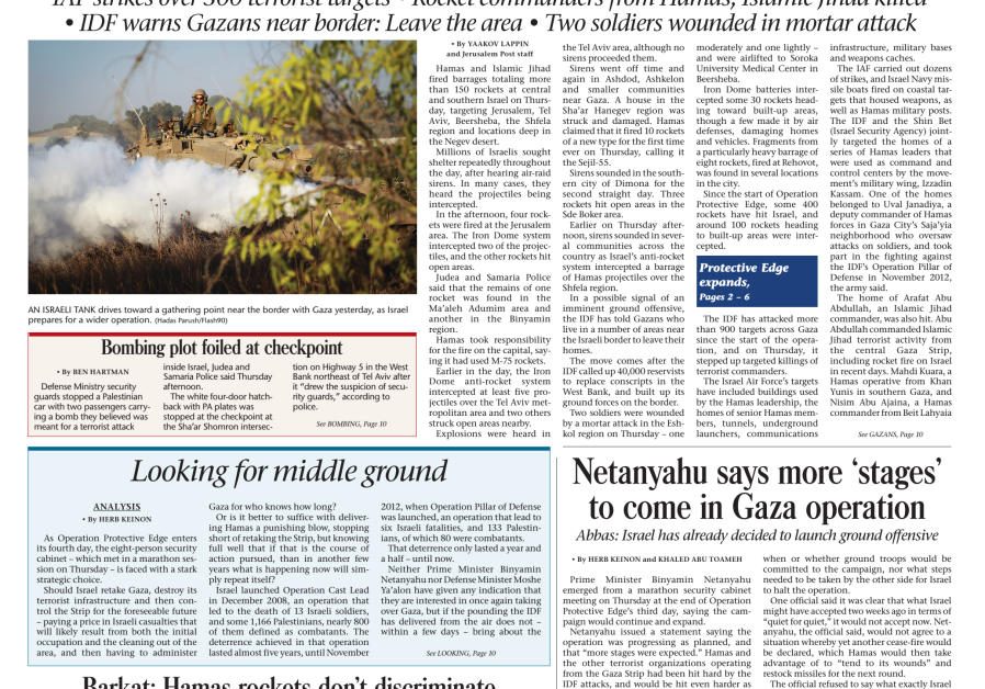 Jerusalem Post Daily Newspaper