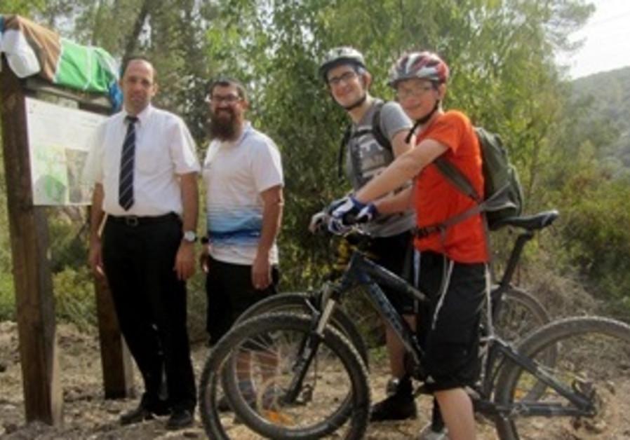 New Zechariya Bike Trail Dedicated Near Beit Shemesh