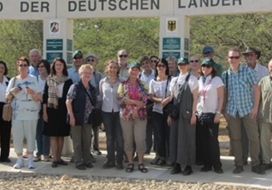 KKL-JNF Germany Water and Desert Mission to Israel