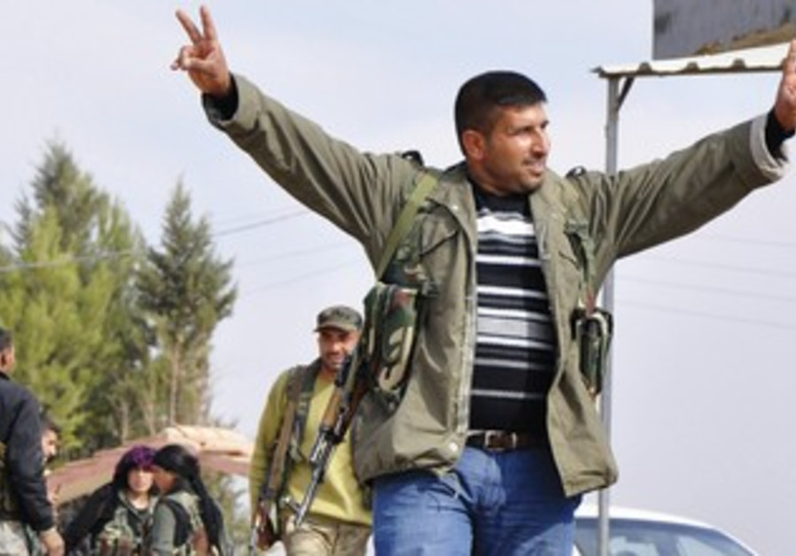 A MEMBER of the Kurdish People's Protection Units.