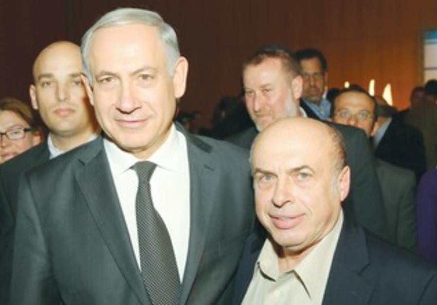 PRIME MINISTER Binyamin Netanyahu and Jewish Agency chairman Natan Sharansky.