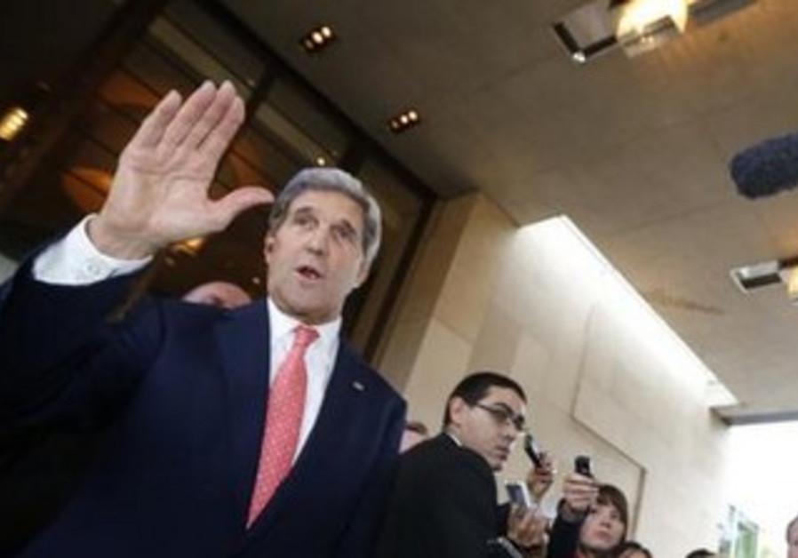 John Kerry in Geneva