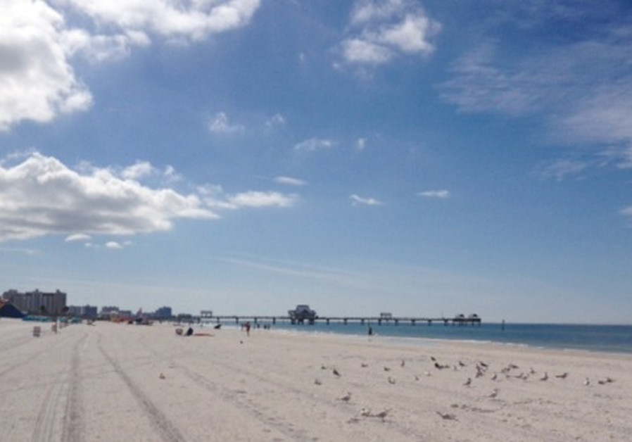 THE WORLD CLASS beach at Clearwater, Florida.