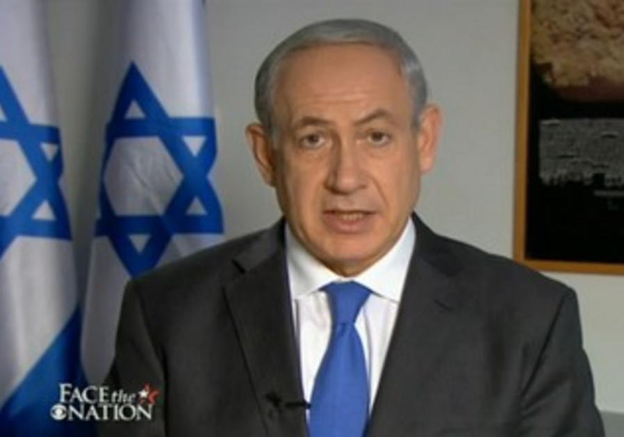 Netanyahu on Face the Nation
