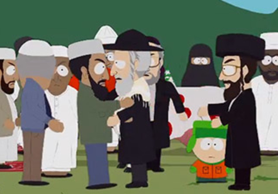South Park takes on the Middle East conflict