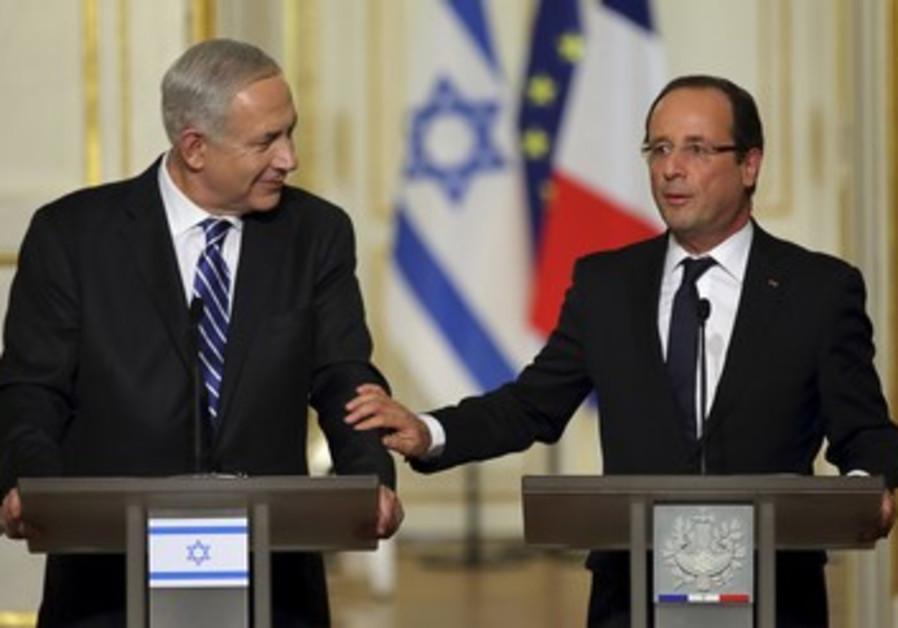 """""""La sécurité d'Israël est capitale pour la France"""""""
