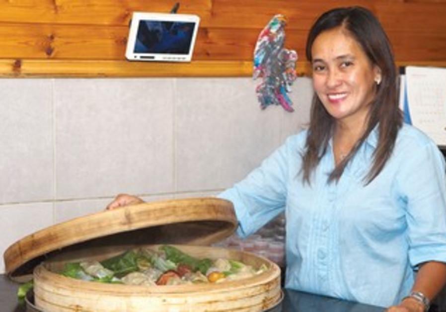 Filipina chef Vilma Magpantay