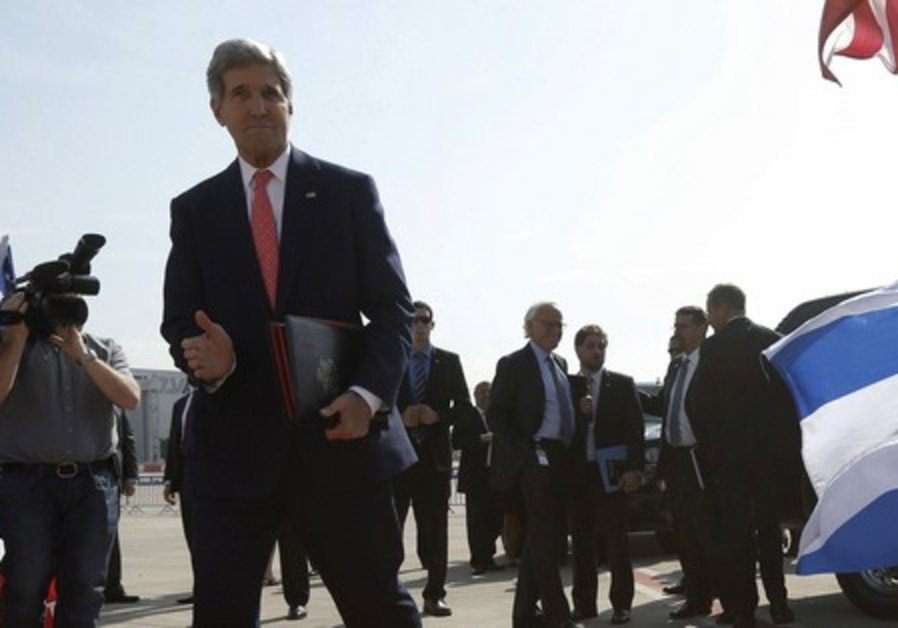 US Secretary of State John Kerry arrives in Israel for another round of talks on the peace process