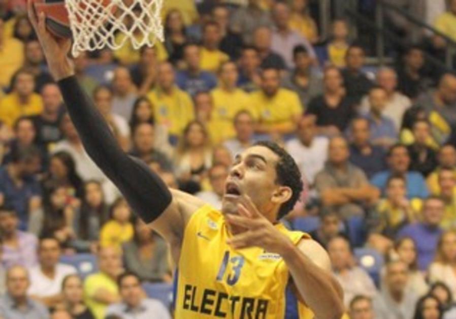 Maccabi Tel Aviv's David Blu.