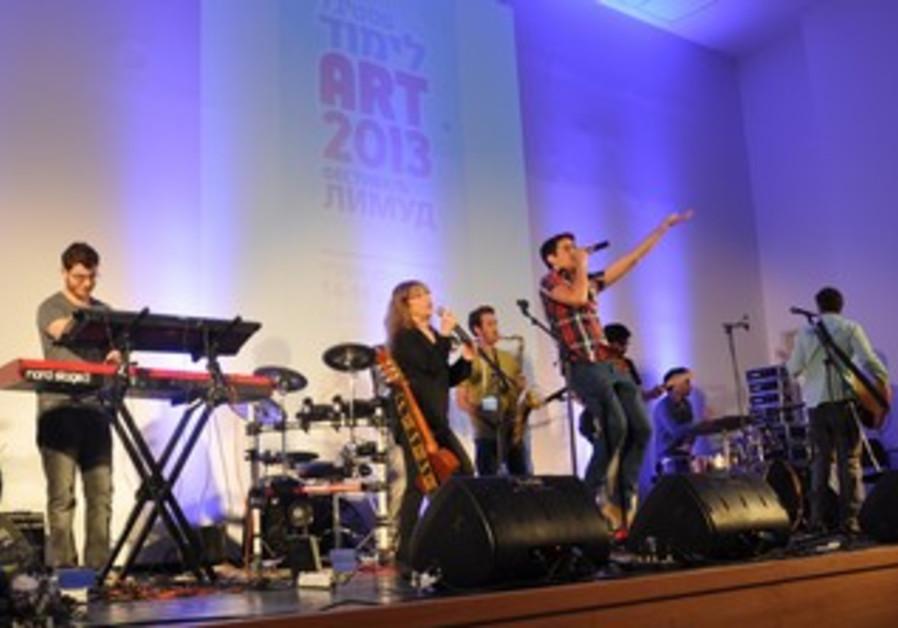 Performance at Jerusalem Art Limmud FSU Festival.