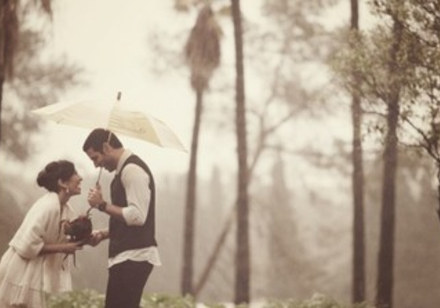 Rainy days can be the most beautiful setting for wedding day photographs