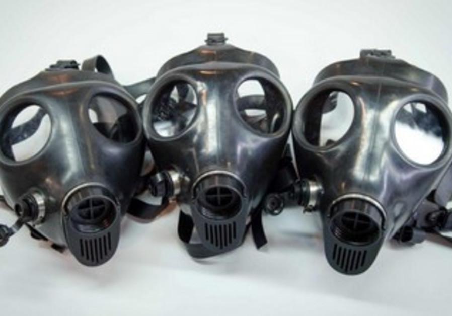 Supergum Industries' gas masks