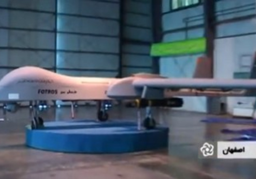 Iranian Fotros drone.