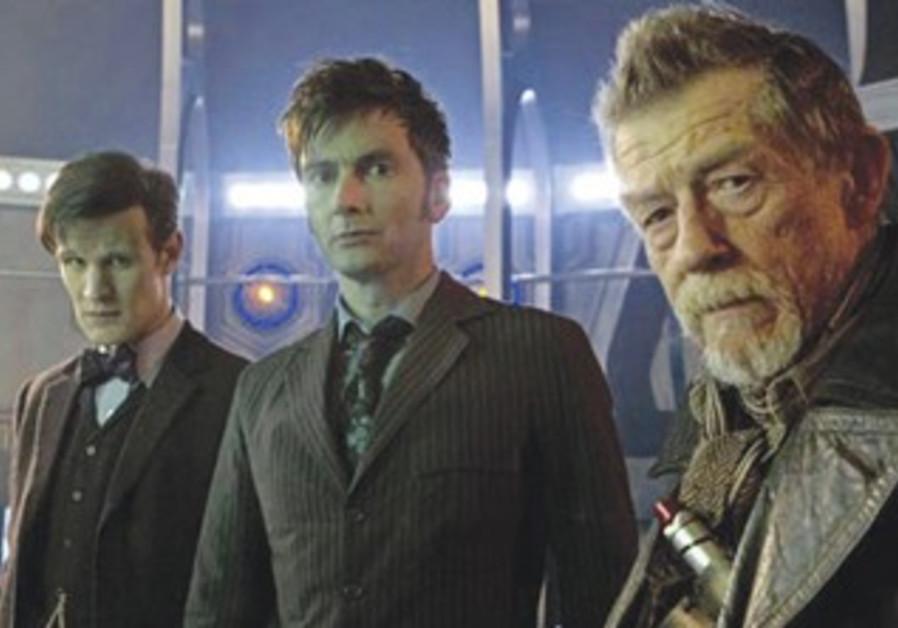 Matt Smith, David Tennant and John Hurt star in 'The Day of the Doctor.'