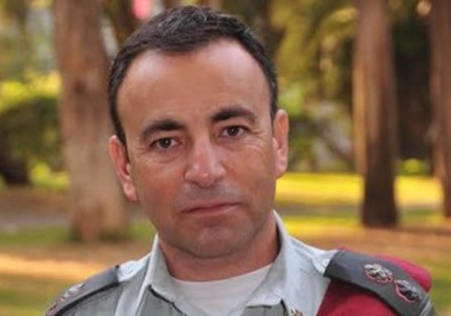 IDF Lt.-Col. Eyal Ezra heads technology and logistics dept.