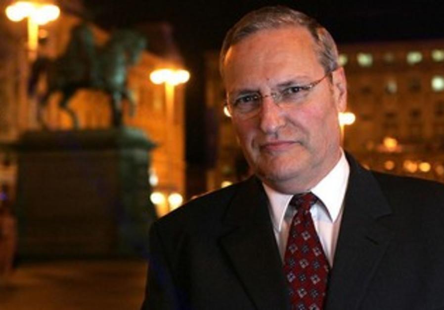 Nazi hunter Efraim Zuroff.