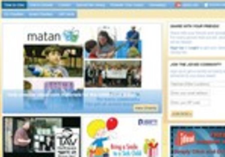 Screenshot of jgives.com