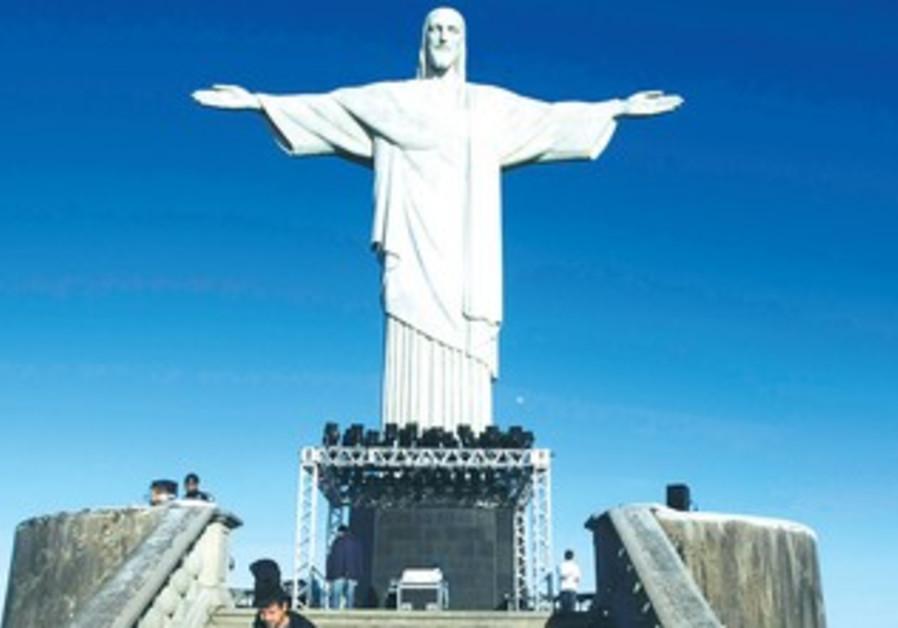 THE 'CHRIST the Redeemer' statue in Rio de Janeiro.